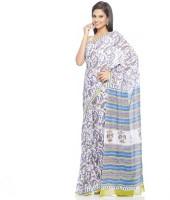 Aapno Rajasthan Floral Print Cotton Sari - SARDVX3FGGUN8XRG