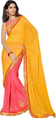 Triveni Self Design Fashion Georgette Sari