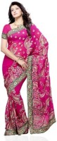 Dealtz Fashion Printed Georgette Sari