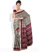 Dori Printed Silk Sari