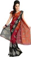 Designersareez Printed Silk, Crepe, Jacquard Sari