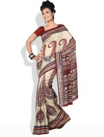 Shreejee Printed Synthetic Sari