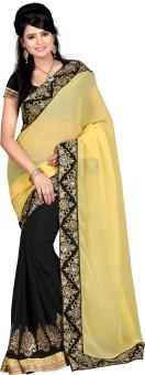 Jheel Sarees Solid Bhagalpuri Silk Sari