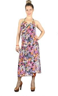 Iracc Floral Print Women's Sarong - SNGE7QHN2YHATGG6