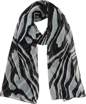 Hi Look Animal Print Polyester Women's Scarf - SCFEBN35MFXE23PF