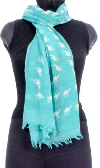 Trendif Animal Print Viscose Women's Scarf