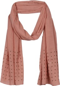 True Fashion Solid Polyester Women's Scarf