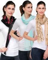 Kiosha Printed Cotton Women's Scarf - SCFDXVD3PWVXT8DE