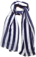 Hi Look Striped Polyester Women's Scarf