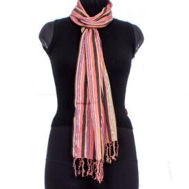 Trendif Striped Viscose Women's Scarf