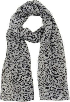 Hi Look Animal Print Polyester Women's Scarf - SCFEBN35WM3QCB7V