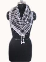 Dealtz Checkered Cotton Women's Scarf