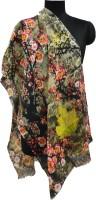 Numalo Floral Print Cotton Women's Scarf
