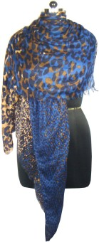 Anuze Fashions Animal Print Viscose Women's Scarf
