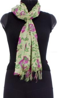 Trendif Floral Print Viscose Women's Scarf - SCFE7732TX7P4EYQ
