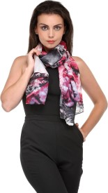 Phive Rivers Printed Silk Women's Scarf