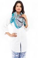 Chhabra 555 Printed Satin Women's Scarf - SCFEFG5NQZ8KGG5J