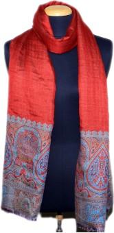 Tiara Printed Cotton:silk Women's Scarf