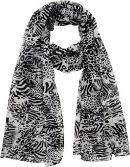 Hi Look Animal Print Polyester Women's Scarf - SCFEBN35NPYFXHDD