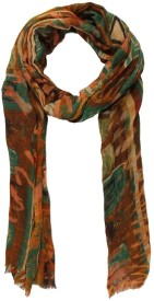 Toscee Printed 50% Wool, 50% Silk Women's