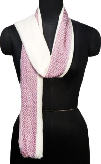 R.Raani Striped Viscose Women's Scarf