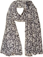 Hi Look Floral Print Polyester Women's Scarf - SCFDWTJAW2T2CJN7