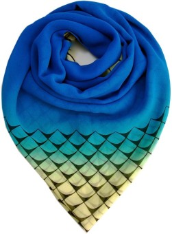 Niche Printed French Crepe Women's Scarf - SCFEANMPBBMG6JQW