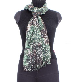 Trendif Floral Print Viscose Women's Scarf