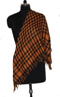 Visaga Checkered Visaga Trendy Cotton Scarf Women's Scarf - SCFE2ZGJEDTA3K6Y