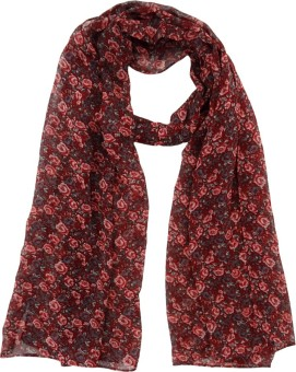 Hi Look Floral Print Polyester Women's Scarf - SCFEBN35NVMSZMHG