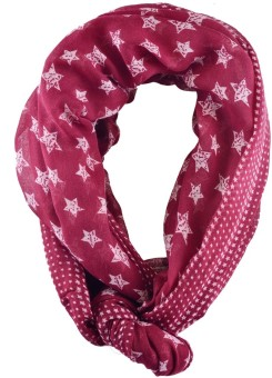 Iracc Printed Polyester Women's Scarf