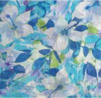 Hi Look Floral Print Polyester Women's Scarf - SCFDWYFASXZ47PGA
