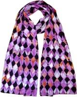 Hi Look Geometric Print Polyester Women's Scarf - SCFDWTJA2FGJVPUG