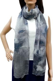 Lifestyle Retail Animal Printed Cotton Women's Scarf
