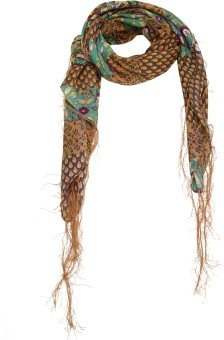 Cashmere Craft Floral Print Cotton Women's Scarf