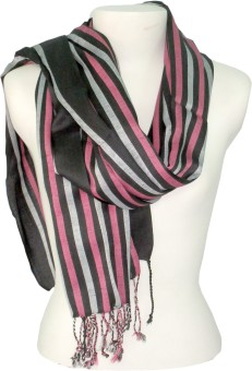 Dushaalaa Striped Polyester Women's Scarf