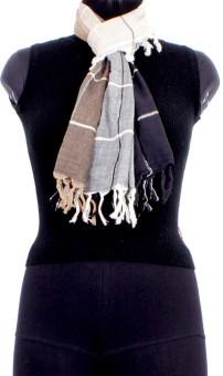 Trendif Checkered Cotton Women's Scarf