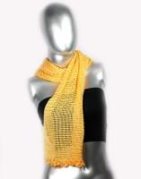 moKanc Checkered Silk Women's Scarf