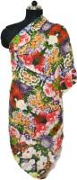 Numalo Floral Print Cotton Women's Scarf - SCFE26TPKZCZUTWZ