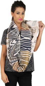 Anuze Fashions Printed Poly Cotton Women's Scarf - SCFEBXFTEWGYFUAD