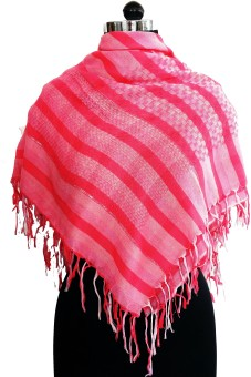 Sisel Striped Polyester Women's Scarf
