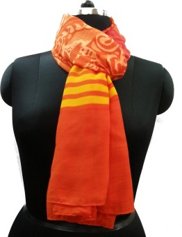 Sdpw Striped 100% Polyester Women's Scarf