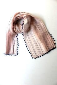 apex Self Design Linen Women's Scarf