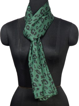 R.Raani Animal Print Viscose Women's Scarf