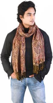 Manka Creations Floral Print Modal Silk Men's Scarf - SCFECQJVCXKNZYVG
