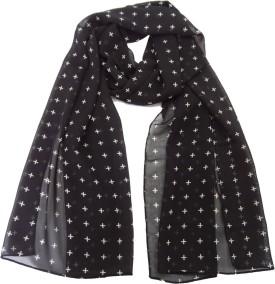 Hi Look Geometric Print Polyester Women's Scarf