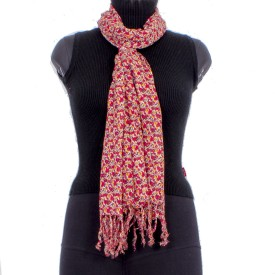 Trendif Floral Print Polyester Women's Scarf
