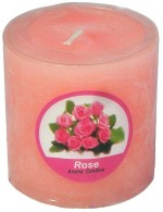India Glorious Scented Candles India Glorious Rose Flavour Scented Candle