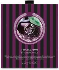 The Body Shop Frosted Plum Scented Candle