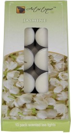 Artistique 10 Pack scented t-lights candle (Jasmine)